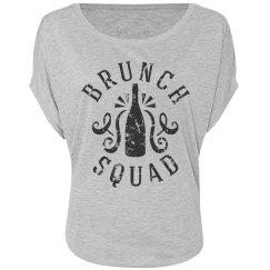 Brunch Squad Flowy Tee