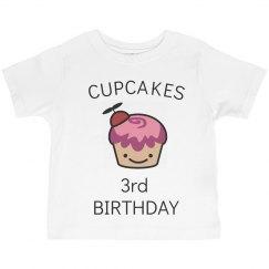 Cupcakes 3rd birthday