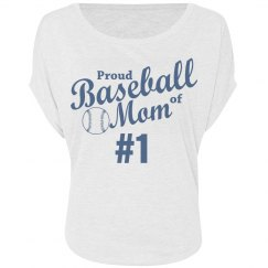 Proud Baseball Mom of #