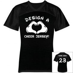 Design A Trendy Cheer Mesh Jersey