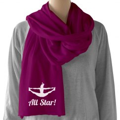 A Cheer All Star's Scarf