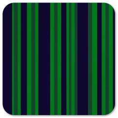 Classic Blue Green Stripes