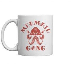 Mermaid Gang Artist Gift Mug