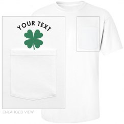 Shamrock Pocket T-Shirt