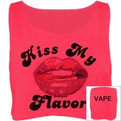 Kiss My Flavor Oversized Crop