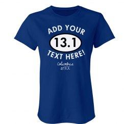 13.1 Half Marathon Design