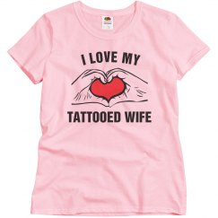 Tattooed wife
