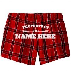 Property Of Custom Name Heart