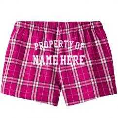 Property Of Custom Name