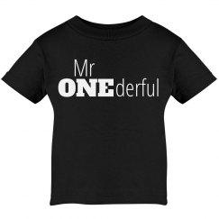 Mr One-derful