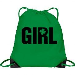 Girl Shamrock Bag