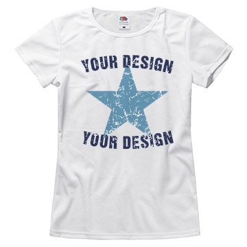 Design a Distressed Tee