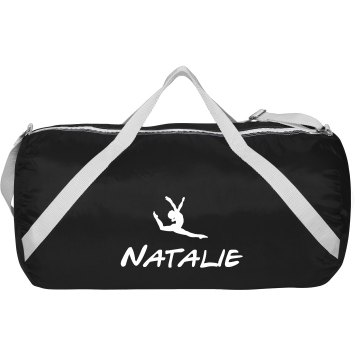 Design A Trendy Dance Bag With Custom Name