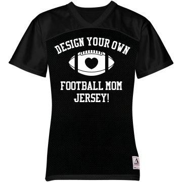 Design Trendy Football Mom Jerseys With Custom Text