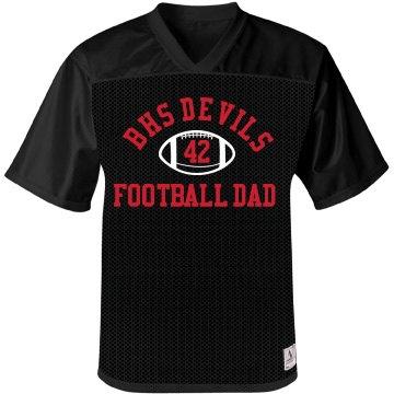 Devils Football Dad