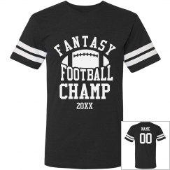 Fantasy Football Champ Custom Year