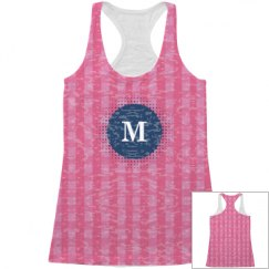 Monogram All Over Print Tank Top