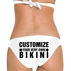 Custom Your Bikini Bottom