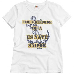 Navy Stepmom Shirt
