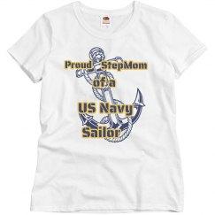 Navy Stepmom Shirt