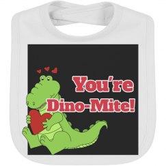 Dino-Mite Bib