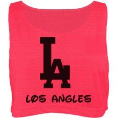 LA crop top