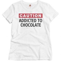 Addicted to chocolate