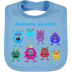 Bookworm Monsters Bib