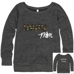 Navy mom sweatshirt