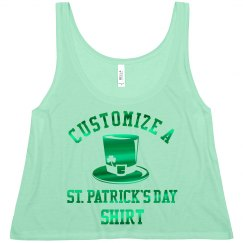 Custom Metallic St. Patrick's Day
