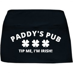 Irish St Patricks Day Bar Apron