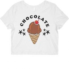 Chocolate Bff Crop