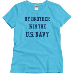 My brother is in the u.s. navy