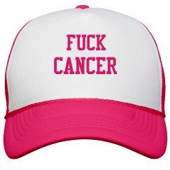 BASEBALL HAT(FUCK CANCER)