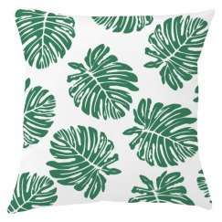 Decorative Leaf Pillow Cover