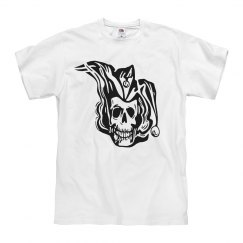 Joker Skull Jester Tattoo
