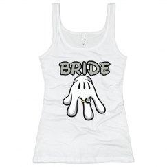 Bride Ring Glove