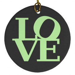 Cute Love Luggage Tag