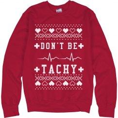 Tachy Nurse's Ugly Sweater
