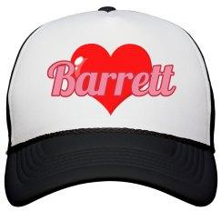 I love Barrett