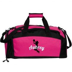 Aubrey basketball bag