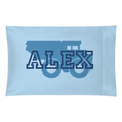 Alex Truck Pillow Case