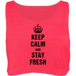 Keep calm stay fresh