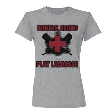 Donate Blood Lacrosse