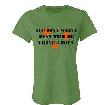 Don't Mess 3 Boys