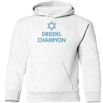 Dreidel Champ Hanakkah