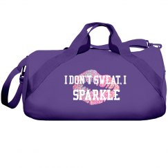 Sparkle duffle bag
