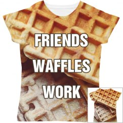 Friends Waffles Work All Over Print