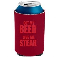 Got Beer Need Steak