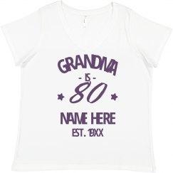 80th Birthday Est 1930